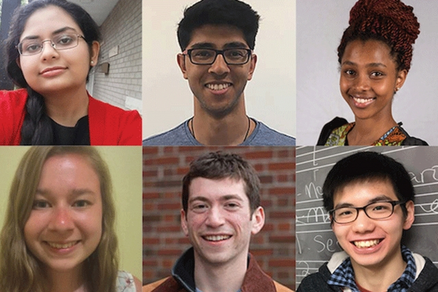 Head shots of MIT students