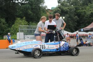 MIT Driverless and Delft University team at the Formula SAE Italy in July