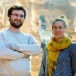 Milo Phillips-Brown (left) and Marion Boulicault are part of a team working on transforming technology ethics education at MIT.