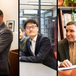 From L to R: Zuckerman Sivan, Zhao, and Youcef-Toumi join previous recipients in lifting up students in ways that have been tremendously impactful.