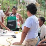 Pictured is a D-Lab Creative Capacity Building Training of Trainers in Santa Rita, Colombia in January 2020.